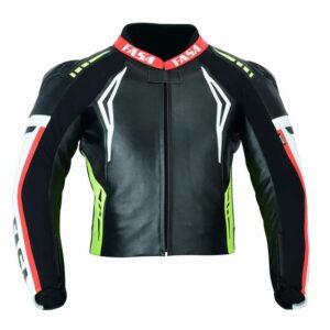 Motorcycle Leather Racing Jacket