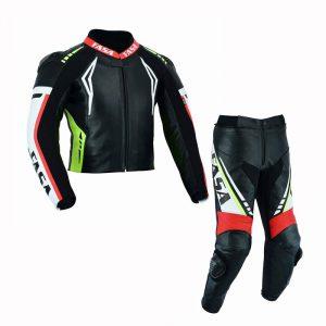 Motorbike Leather Racing 2 Piece Suit